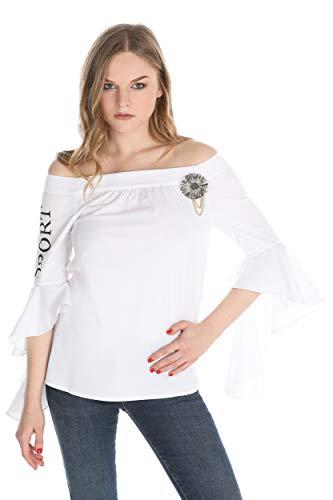 Bianco Donna 1100 Camicia white Relish Costan aTn6OF8