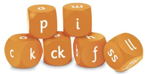 Foam Resources Learning Magnetic (Learning Resources Letters & Sounds Phase Two Soft Foam Cubes)