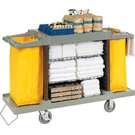 Hotel Cart, Housekeeping Cart from Global Industrial