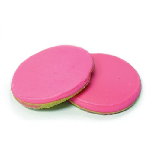 ies - Signature Pink Cookies - by Merlino Baking (Pack of 12) (Frosted Sugar Cookies)