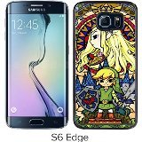 Legend-Of-Zelda-Black-Samsung-Galaxy-S6-Edge-Screen-Cover-Case-Luxurious-and-Fashion-Design