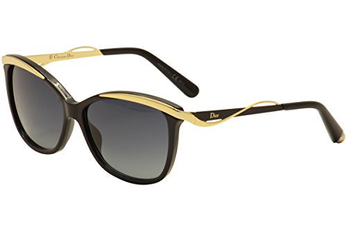 Christian Dior W-SG-3083 Christian Dior Dior Metaleyes 2-S C7VHD - Black Rose Gold Womens Sunglasses, 57-14-140 (Christian Dior Glasses)