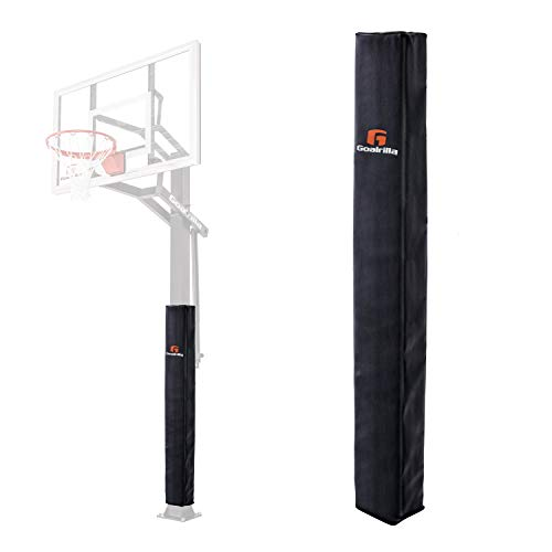 Goalrilla Square All-Weather, Durable Basketball Pole Pad Fits 5x5 Inch Goalrilla Poles