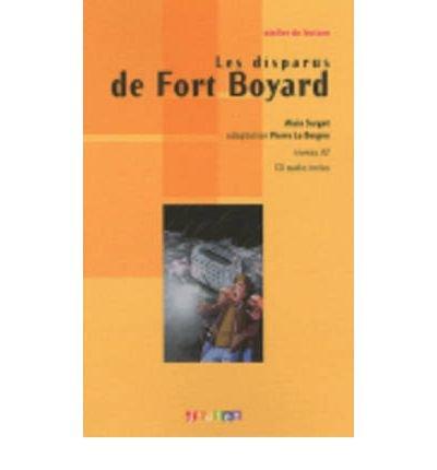 Download Atelier De Lecture: Les Disparus De Fort Boyard - Book & CD (Mixed media product)(French) - Common pdf epub
