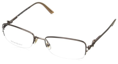 Yves Saint Laurent Women's 6165/Y Eyeglasses, Brown, One Size