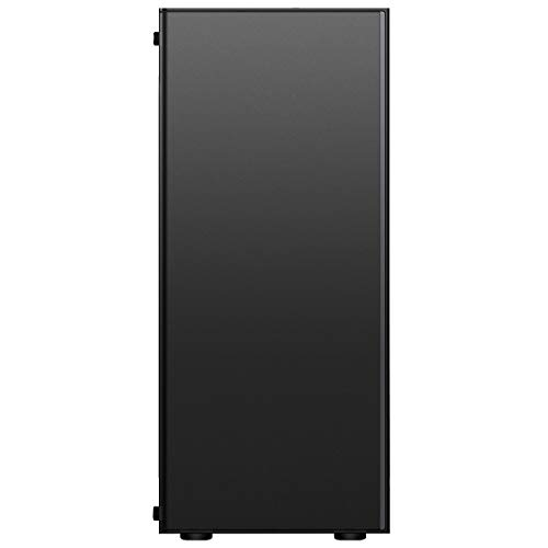CiT 1002 ARGB PC Gaming Case, Mid-Tower, ATX, ARGB LED Strip, Aura Sync, Room for Four Fans, Water Cooling Ready, Build a Great Looking PC Case   Black