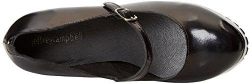 De nero Negro Adorlee Tacón Con Zapatos Para Campbell Jeffrey Punta Mujer Cerrada qS4twwHP