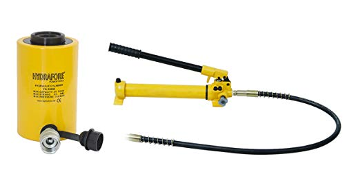 (Hydraulic Hand Pump with Single-Acting Hollow Ram Cylinder (20tons 2