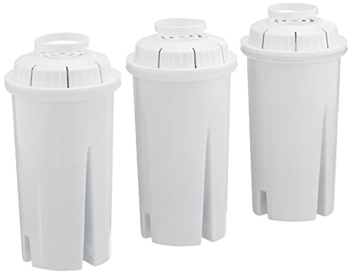Sapphire Replacement Water Filters for Brita and Pur Pitchers, 3-Pack