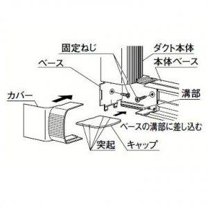 パナソニック 5個セット 《スッキリダクト Rシリーズ》 ツイストジョイント ホワイト DAR3375S_set