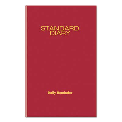 AT-A-GLANCE Standard Diary Recycled Daily Reminder, 5-3/4
