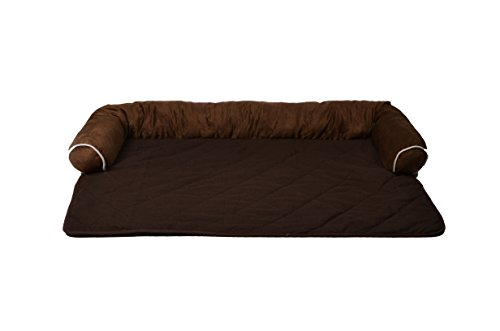 long rich Sofa Bed/Sofa Protector/Sofa Cover for Dog/Cat, 40' x 23' x 4', Brown/Coffee,by...
