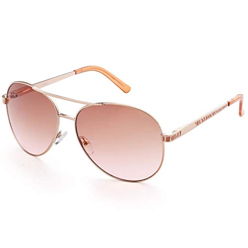 1pcs Eyewear of Light Brown Gradient Metal Frame Polarized U