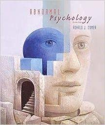 Book Abnormal Psychology - Ronald J. Comer - by Ronald??J.??Comer (2003-08-01)