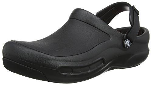 crocs Men's 15010 Bistro Pro Clog, Black, 11 US Men's / 13 US Women's
