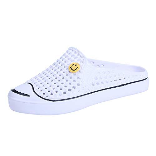 ✩HebeTop Water Shoeswomen Men Women Beach Swim Barefoot Quick Dry Lightweight Flexible Water Shoes White