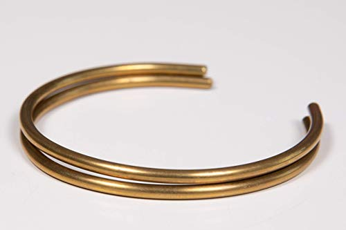 - Gold bangles for women Simple Minimalist brass Thin Set Open Bracelets Everyday Jewelry FOR woman
