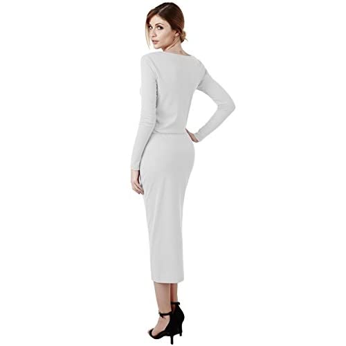 081024f53fe85a delicate Elbon Boutique Women Longsleeve Comfy Dress with Waist String