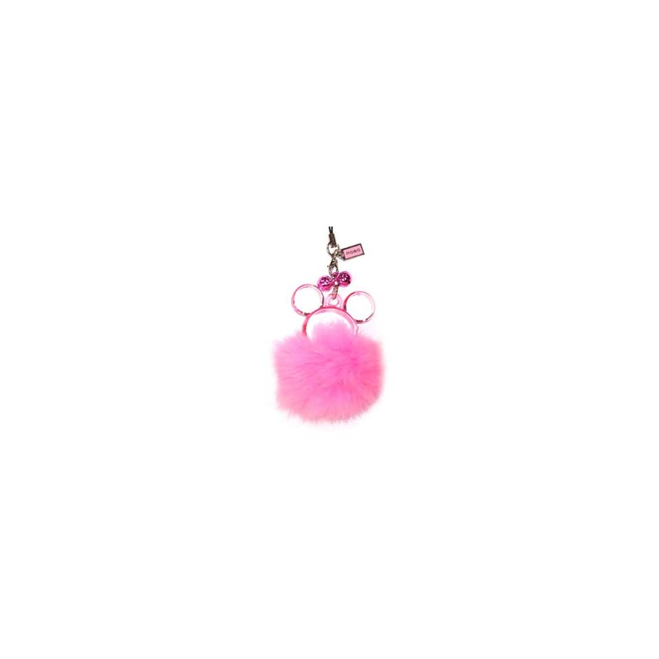 Disney Mickey / Minnie Mouse Pink Furtastic Handheld & Cell Phone Charm