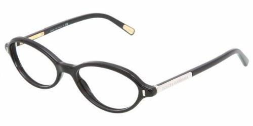 DOLCE&GABBANA D&G DG Eyeglasses DG 3105 BLACK 501 DG3105 50MM by Dolce & Gabbana (Image #1)