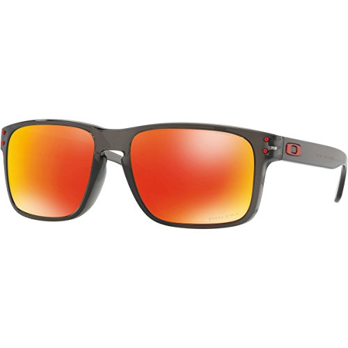 Oakley Men's Holbrook Sunglass, Grey Smoke/Prizm - Oakely Holbrook
