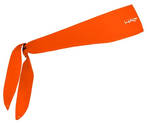Halo Headband Sweatband Tie Bright Orange by Halo Headbands (Image #1)