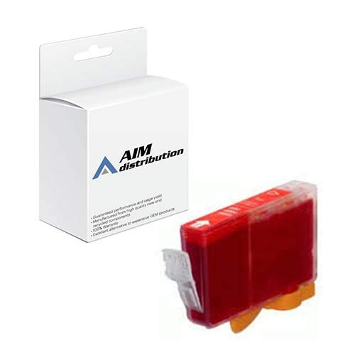 AIM Compatible Replacement for Canon BCI-6R Red Inkjet (280 Page Yield) (8891A003) - Generic