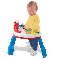 Fisher price elmo 39 s sing teach table office products - Table activite fisher price ...