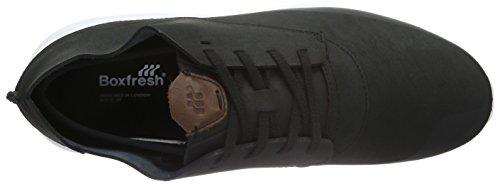 Boxfresh Colum Sh Lea - Zapatillas Hombre Negro - negro