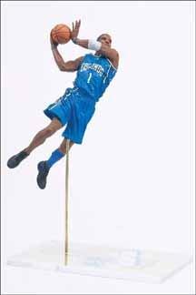 McFarlane Toys NBA Sports Picks Series 5 Action Figure Tracy McGrady (Orlando Magic) Blue Jersey (Picks Nba Toys Mcfarlane Sports)