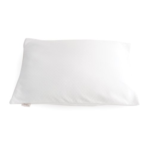Millet Hull Pillows (Bucky Large Duo Bed Pillow, White, One Size)