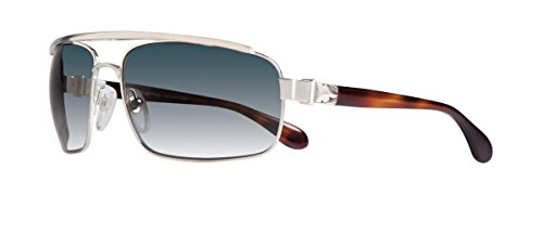 Chrome Hearts - Penetration - Sunglasses (Brushed Silver-Butterscotch Tortoise-Plastic, Cobalt - Mens Sunglasses Chrome Hearts