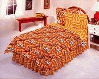 7 Piece Queen Size Tony Stewart #20 Bed Set - NASCAR Bedding Set ()