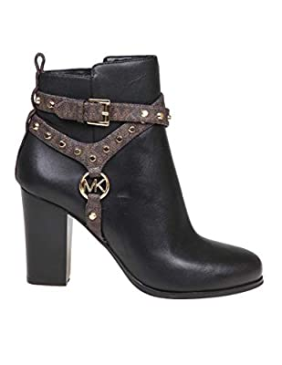 Michael Kors Luxury Fashion Womens 40F9PRHE8L007 Black Ankle Boots | Fall Winter 19