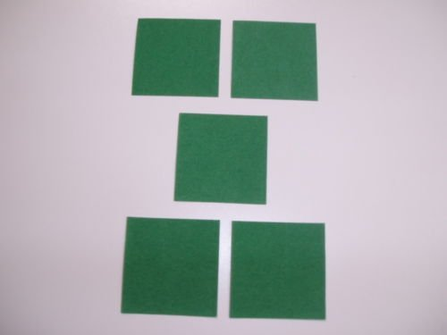 SGL Pack Of 5 Pool / Snooker Table Cloth Repair Plasters ()