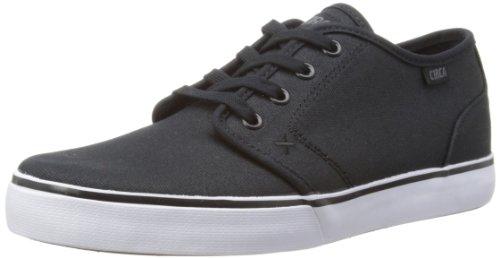 C1RCA DRIFTER Drifter-M - Zapatillas de tela para unisex-adultos, color negro, talla 38 Black/Dark Gull
