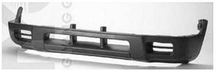 CPP Gray Front Bumper Valance for 1998-2000 Ford Ranger