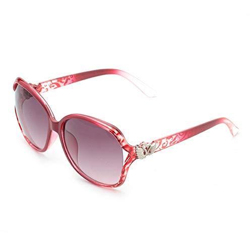 moda Gafas de de mujer de Gafas sol redondo sol personalidad la de de NIFG tdn7xwqat