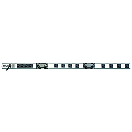 Tripp Lite 12 Outlet Foldable Power Strip, 36 in. Length, 15ft Cord with 5-15P Plug (PSF3612)
