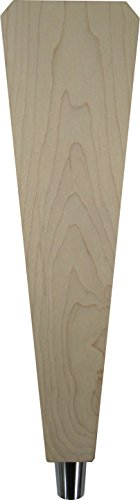 """Unfinished 12"""" Solid Maple Angled Tap Handle"""