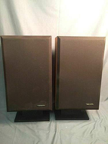 PHOENIX FINDS TREASURES Realistic Optimus 10 Brilliance Contour Speakers with Floor Stand Beautiful Rare