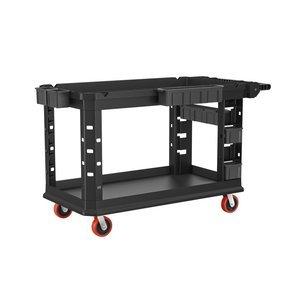 Suncast Commercial PUCHD2654 Utility Cart, Heavy Duty Plus, 750 Pounds Load Capacity, black