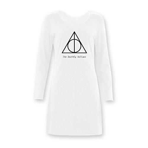 Jane Harry Potter and the Deathly Hallows Lady Nightshirts Long T-shirt XS-XXXL (Harry Potter Dressing Up)