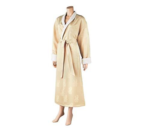 The Ritz-Carlton Cozy Super Soft Unisex Terry Lined Robe, Luxurious, Soft, Plush-Full Body Wrap Bathrobe with the Ritz-Carlton Embroidered Logo Size Extra Large