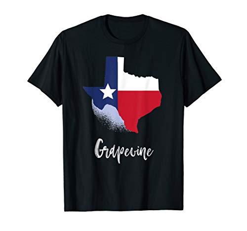Grapevine TEXAS t shirt, Lone Star State Texan -