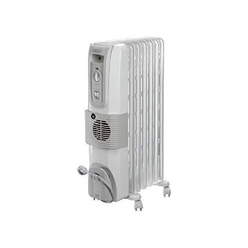 DeLonghi HOR KH770720V - Calefactor (220-230 V, 50 Hz, 350 mm, 350 x 150 x 630 mm, 150 mm) Color blanco: Amazon.es: Hogar