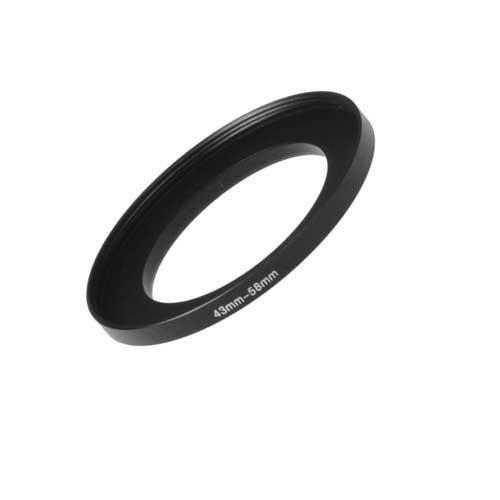 フォトディオックス メタルステップアップリング アルマイトブラックメタル 43-58 mm  B001G46ZRG