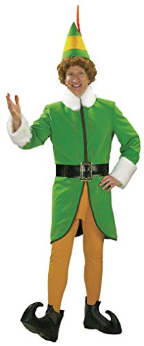 Rubie's Men's Grand Heritage Deluxe Buddy The Elf Costume, Green, Large -