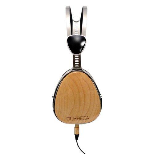 Tribeca Genuine Wood Aviator Headphones for Kindle Fire HD Maple Audio
