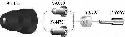 Thermal Dynamics 9-8245 Mechanized Shield Cap, 40A - Thermal Dynamics Shield Cap